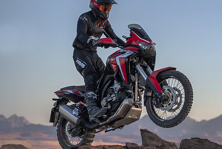 Faites le voyage de votre vie au guidon de la nouvelle moto Africa Twin CRF1100 Aventure de Honda