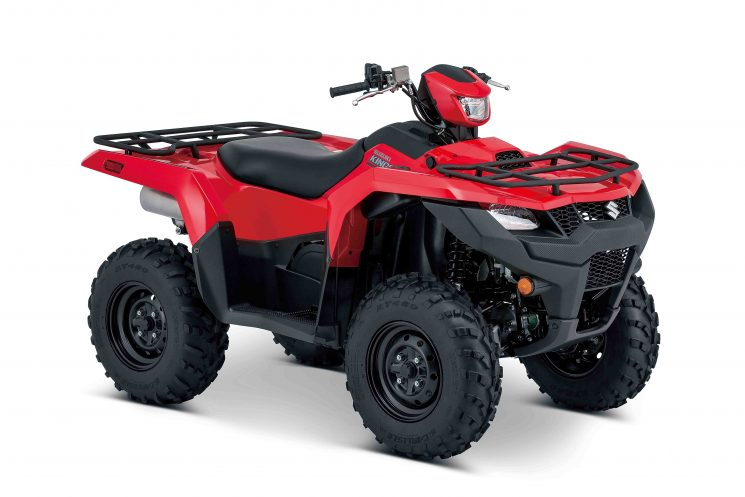 Suzuki KINGQUAD LT-A500XP DIRECTION ASSISTÉE 2019